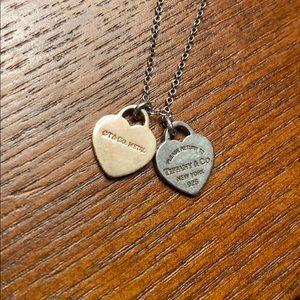 Return to Tiffany & Co. double heart